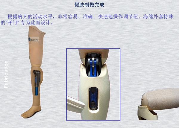 假肢膝盖机械结构简图