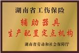 佳满假肢——湖南省工伤保险辅助器具生产配置定点机构