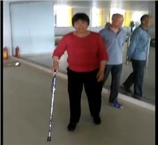 23年未行走的患者安装假肢之后