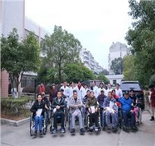 截瘫及四肢瘫痪病人轮椅小组活动