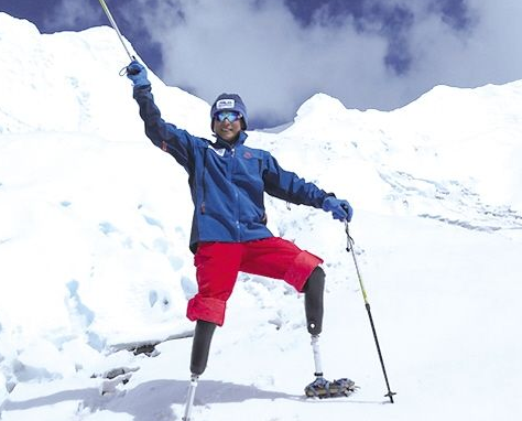 劳伦斯年度最佳体育时刻奖获得者居然是双腿截肢的他