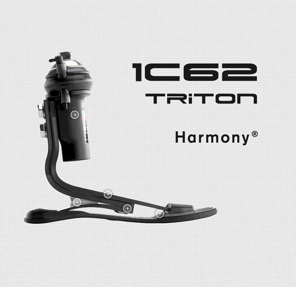 Triton 1C62碳纤分趾储能脚