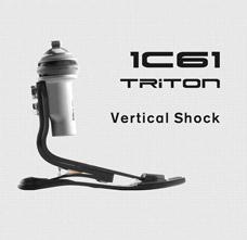 Triton 1C61碳纤分趾储能脚