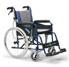 卫美恒品牌 Eclips X1航太铝合金轮椅 可折叠 大轮可拆 携带方便