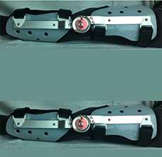 JM483可调式膝关节固定矫形器