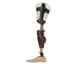 Genium X3高性能纯防水可交替上楼梯智能仿生假肢系统