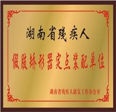湖南省残疾人假肢矫形器定点装配中心
